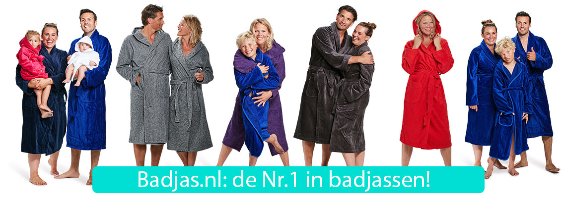Badjassen voor iedereen