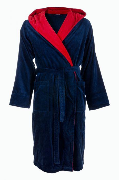 18688d0668a Heren-badjas marineblauw