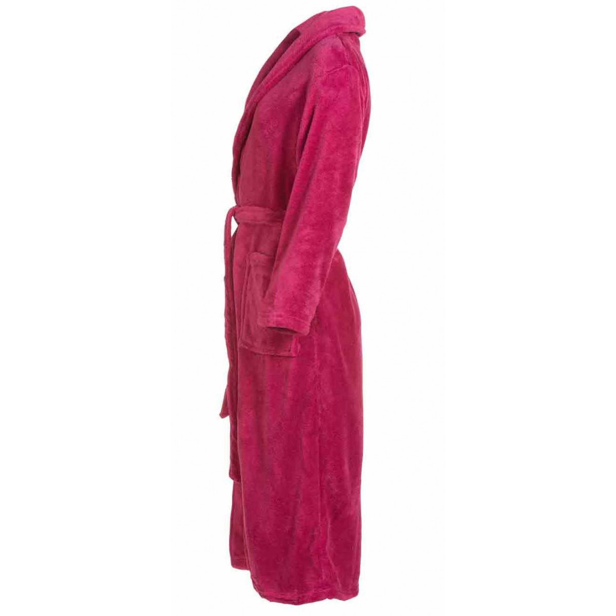 Roze damesbadjas