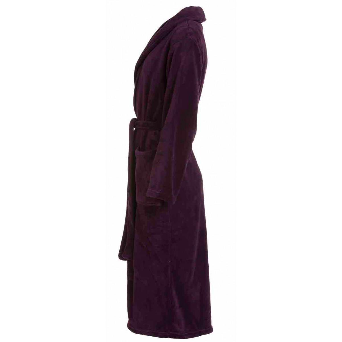 dames badjas paars