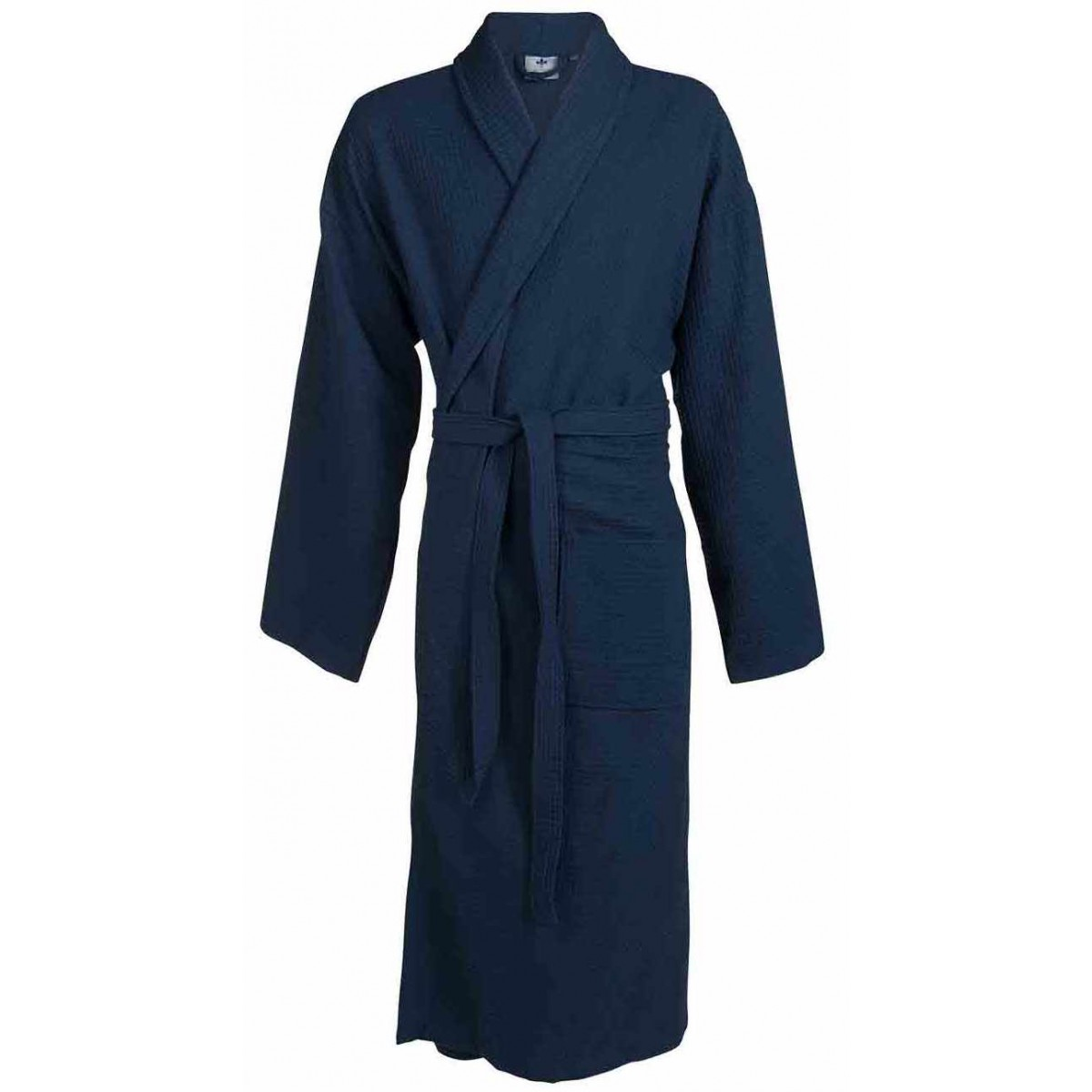 Piqué badjas blauw