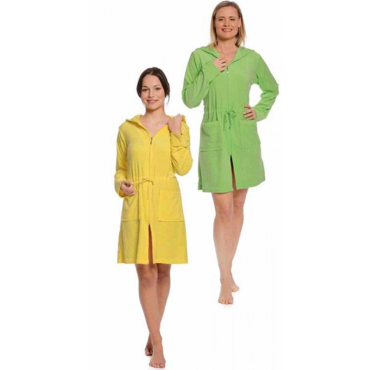 Dames badjas met capuchon kopen bij badjas.nl   snelle levering