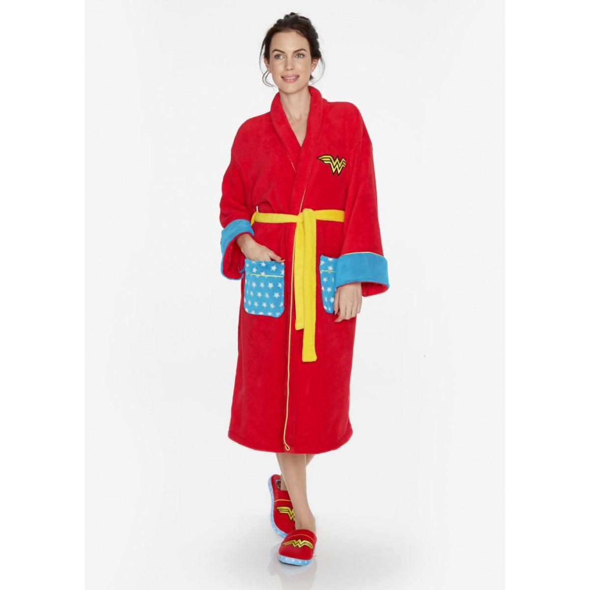 badjas voor superheldin