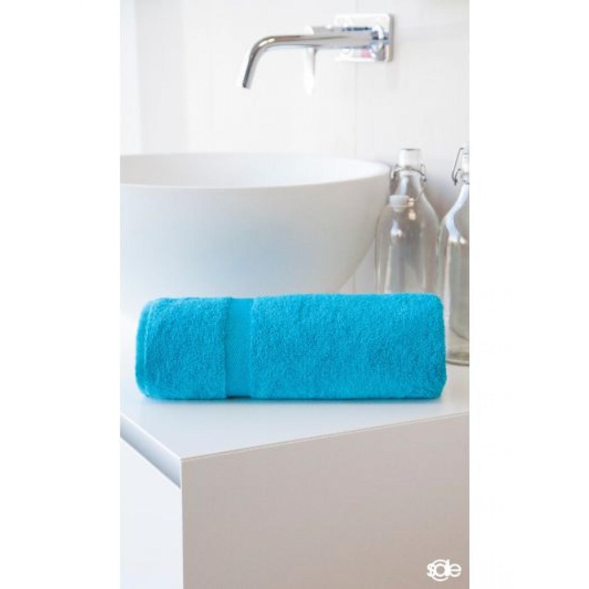 handdoek aquablauw