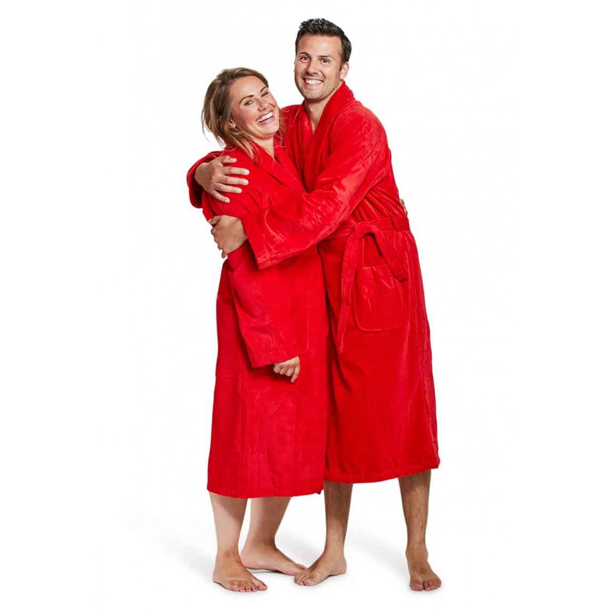 Rode badjas