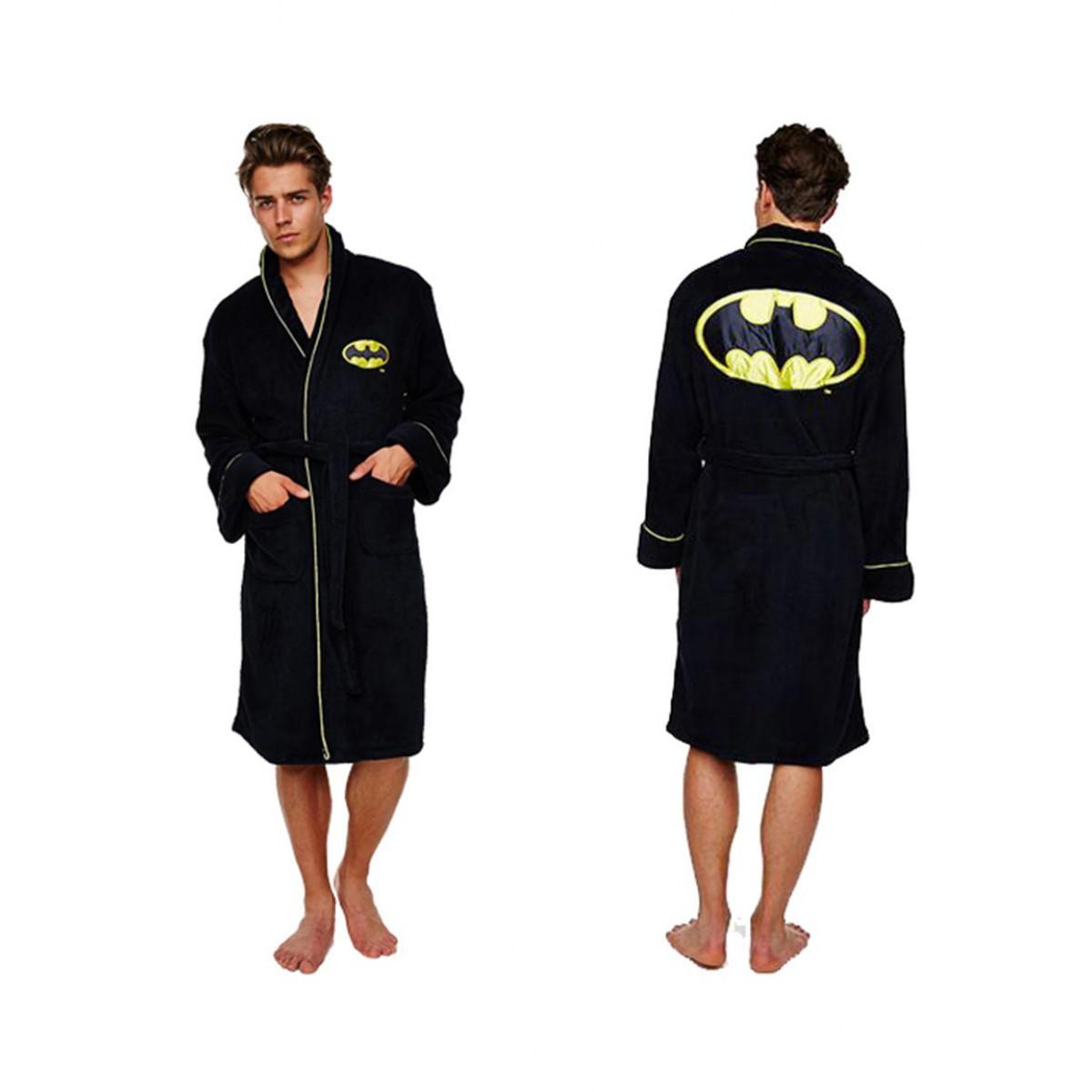 Badjas met batman logo