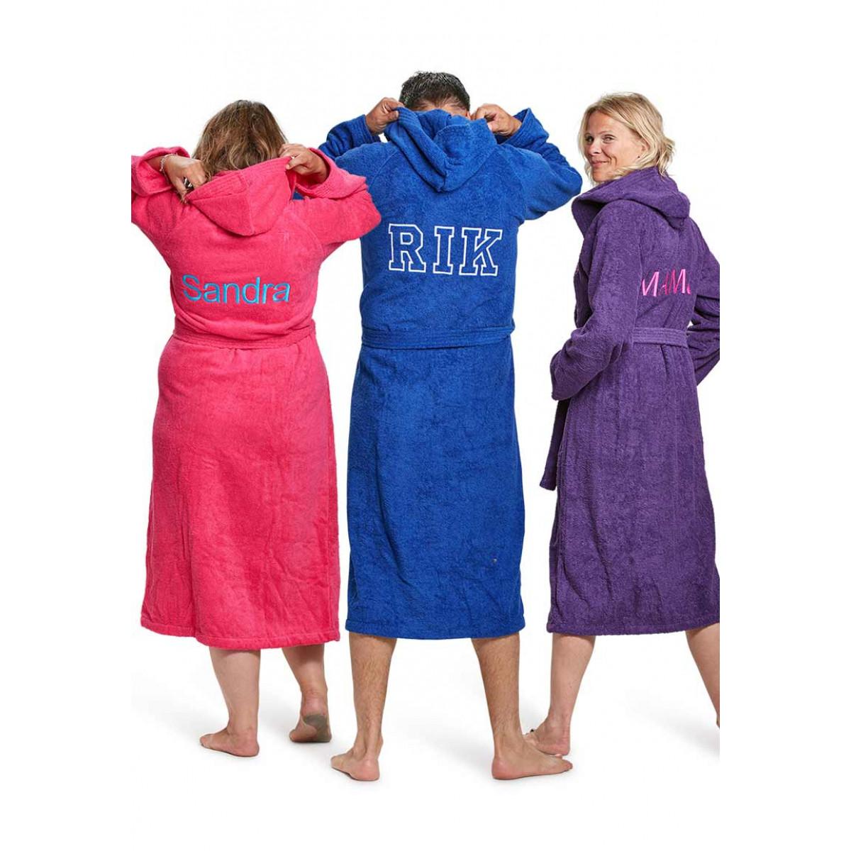 badjassen met borduring