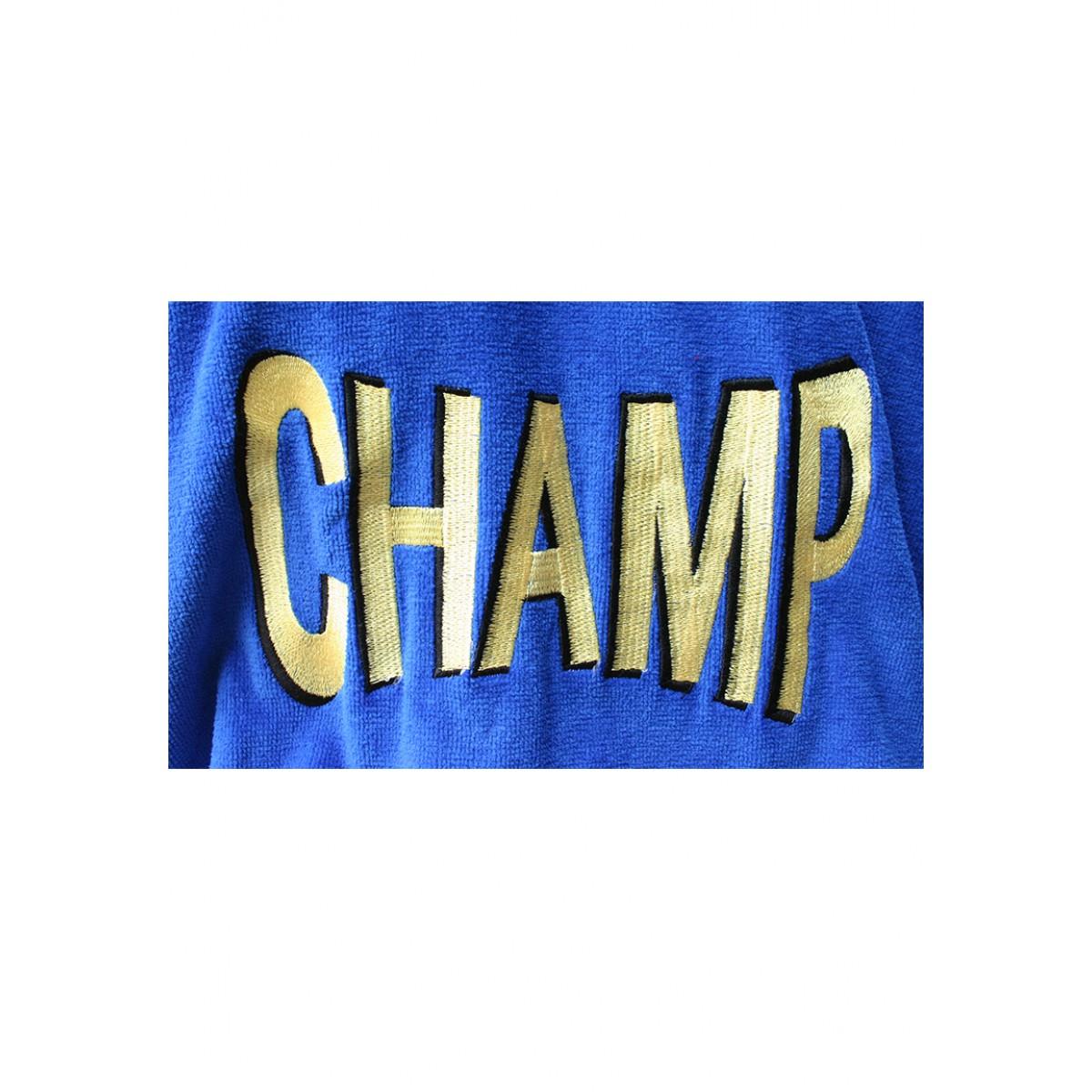 badjas voor kampioenen