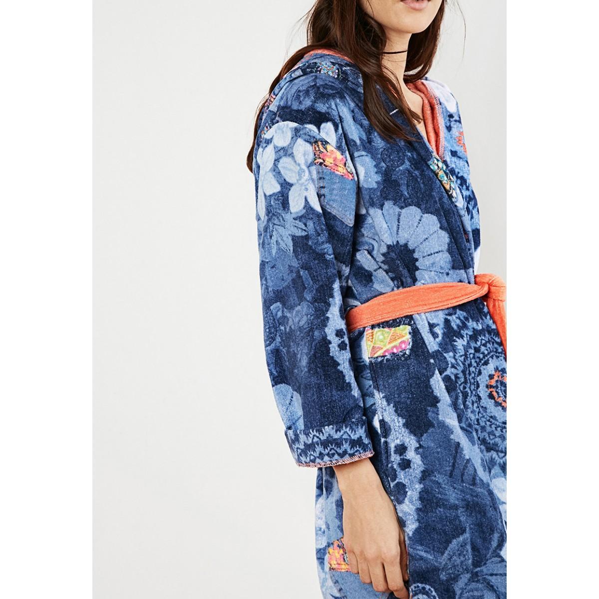 katoenen badjas voor de sauna