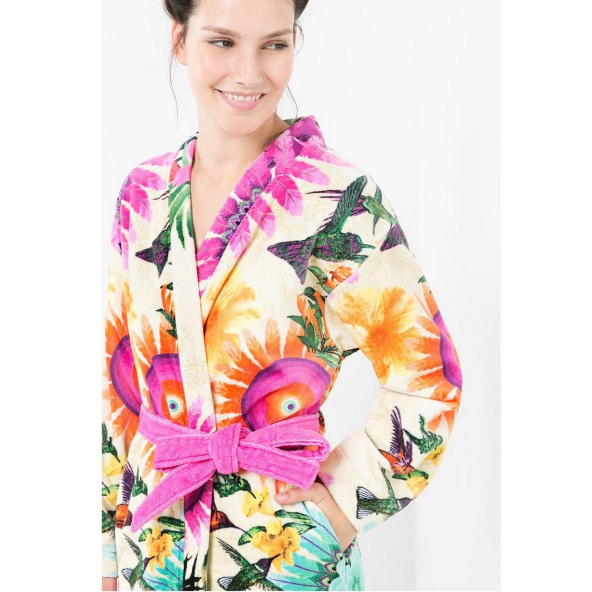 Kimono badjas desigual