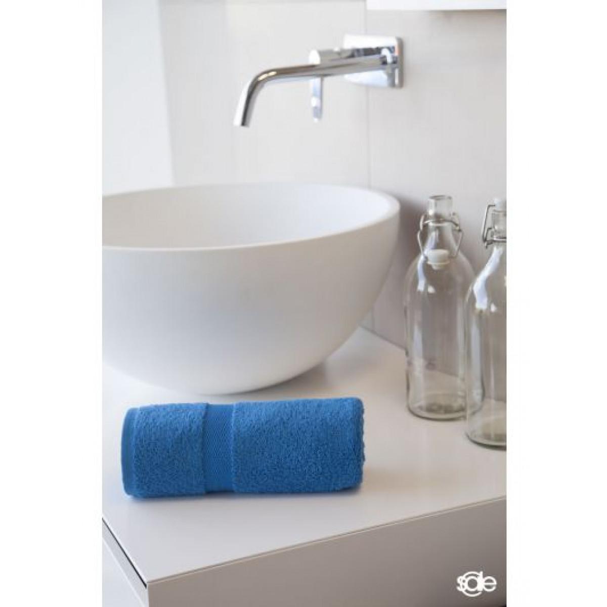 handdoek kobaltblauw