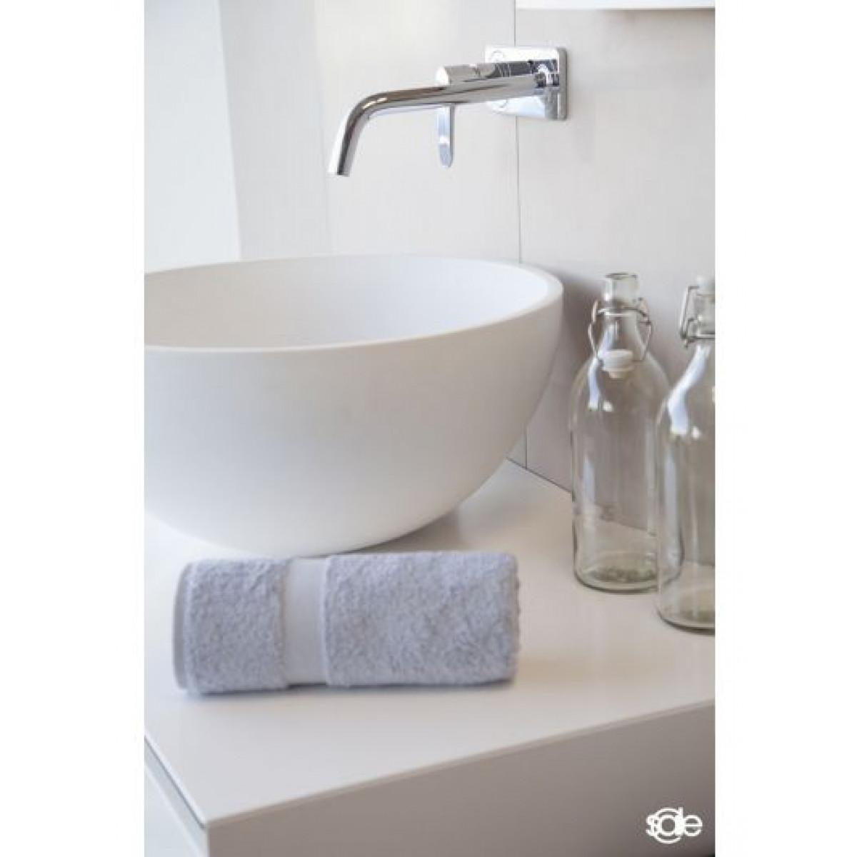 handdoek lichtgrijs