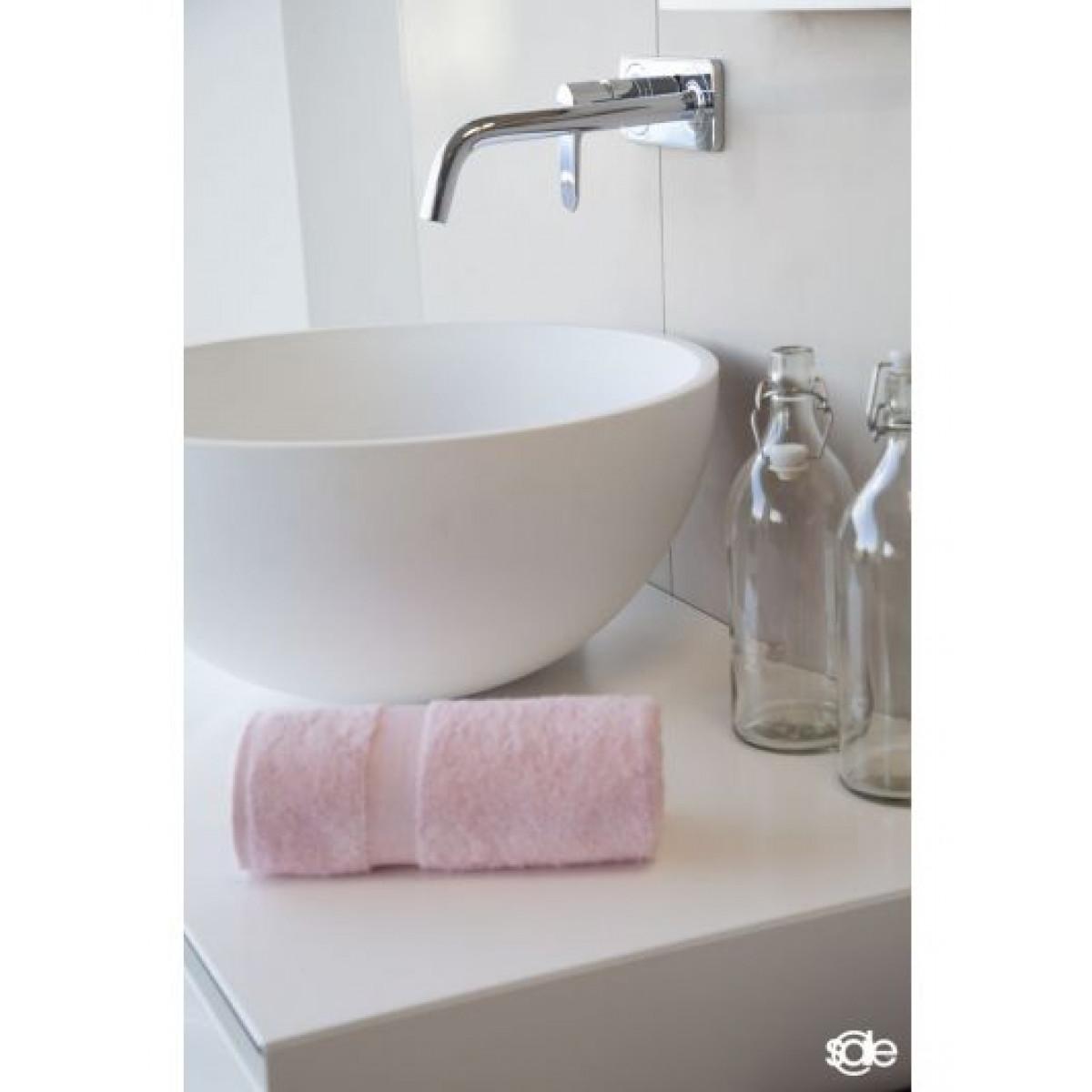 handdoek lichtroze