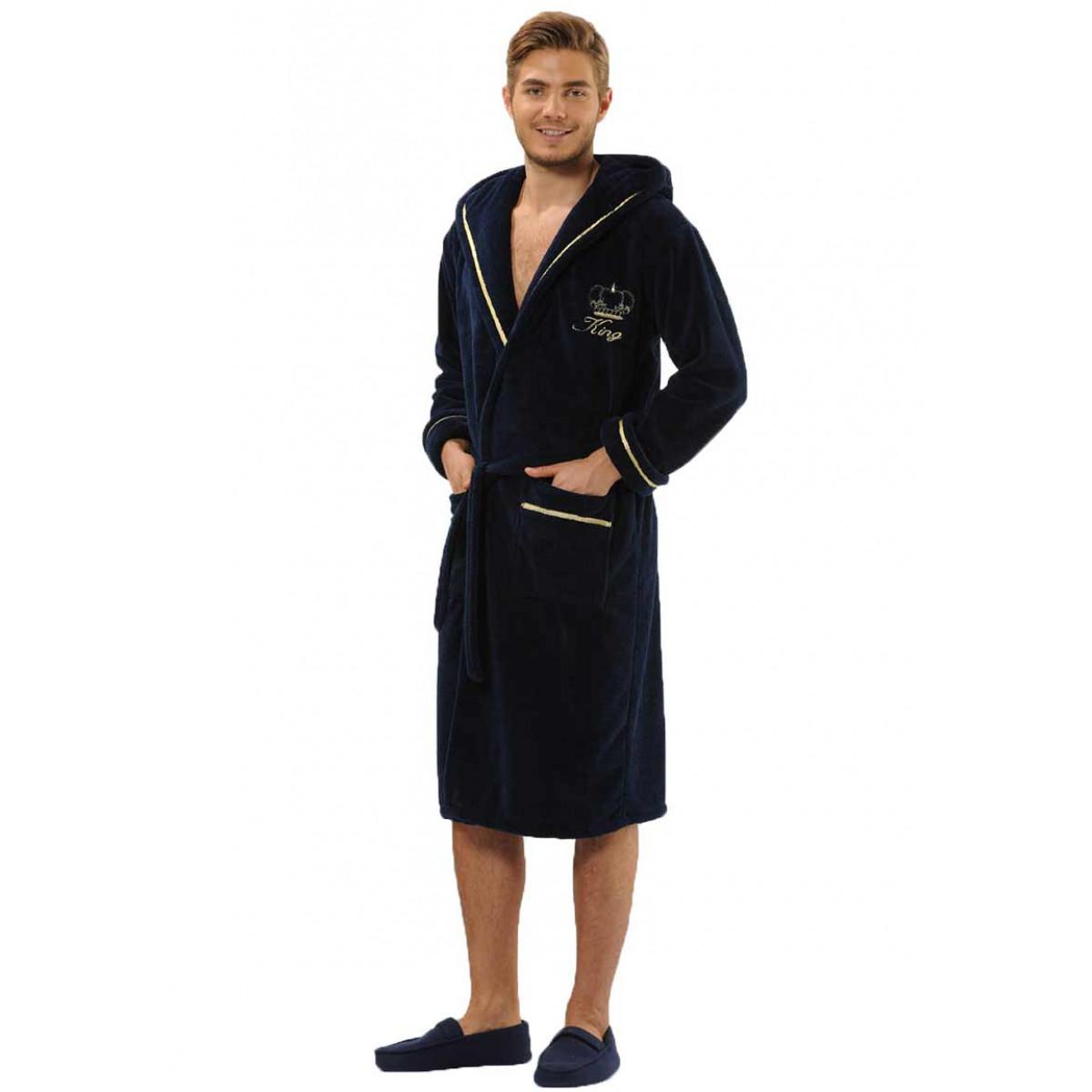 vorstelijke badjas voor hem