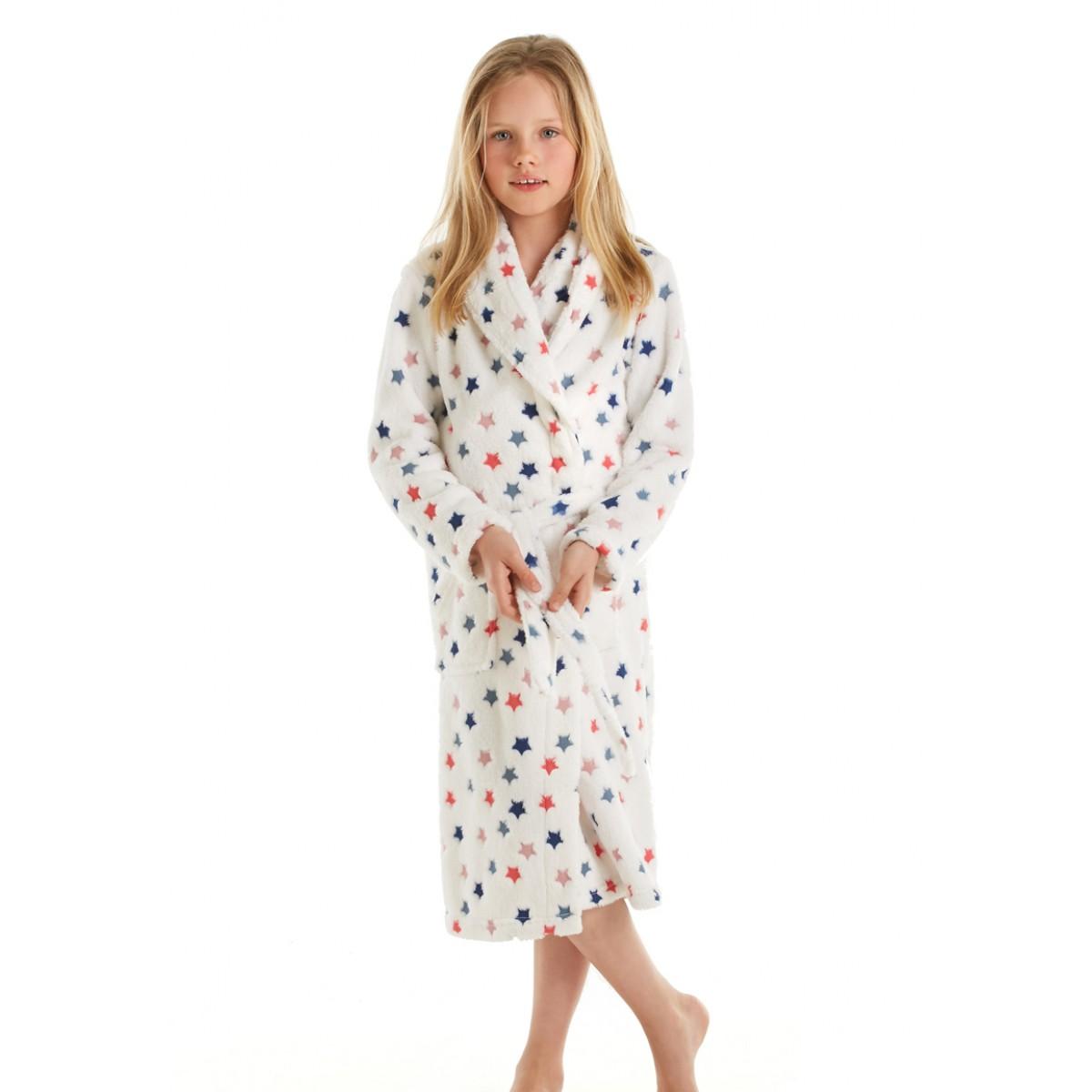 Kinderbadjas met sterren