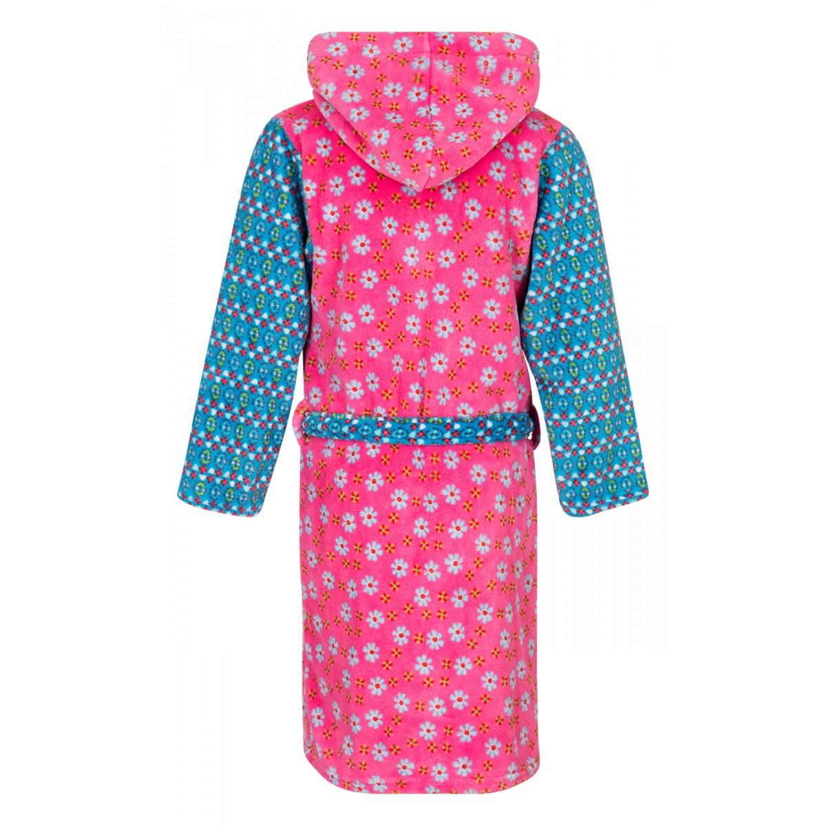 bjnl -Bloemen kinderbadjas