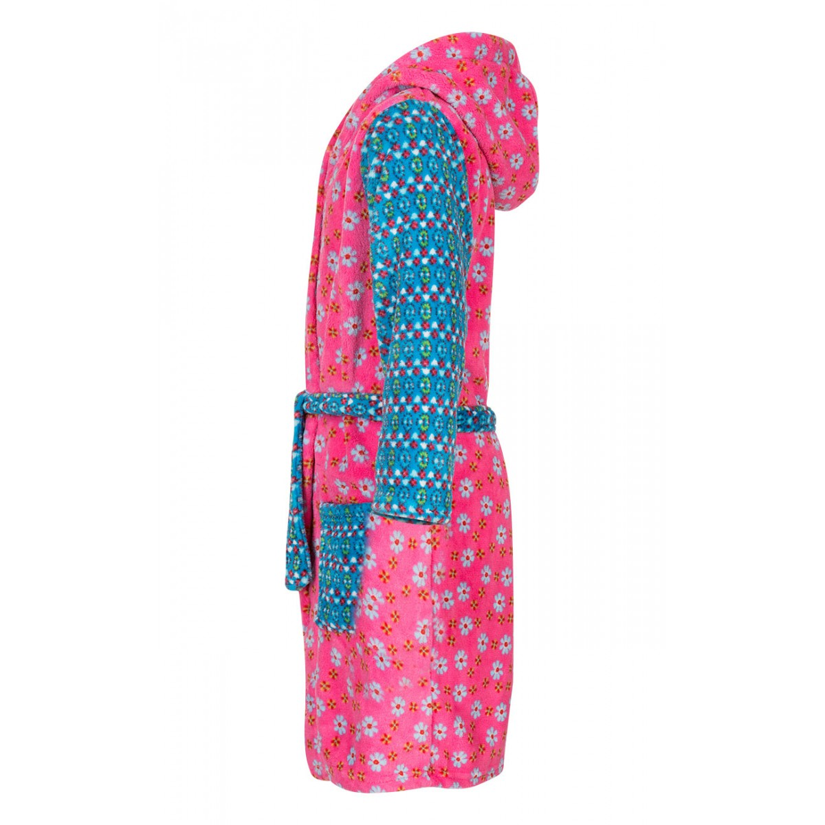bjnl -kinderbadjas met bloemen