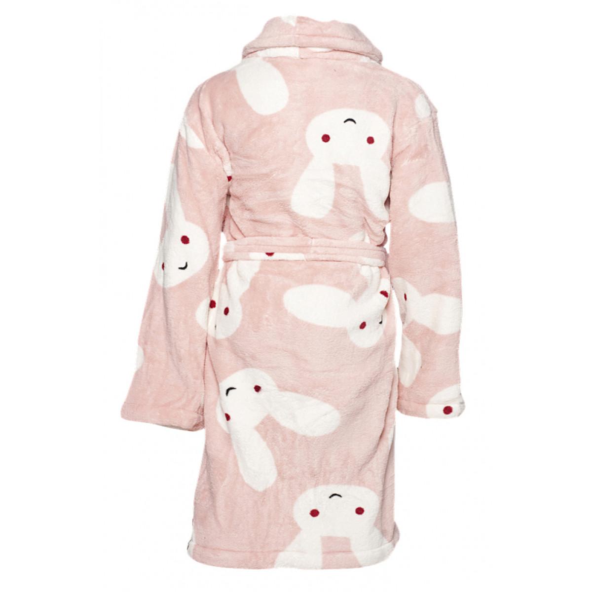 Kinder-badjas konijntjes