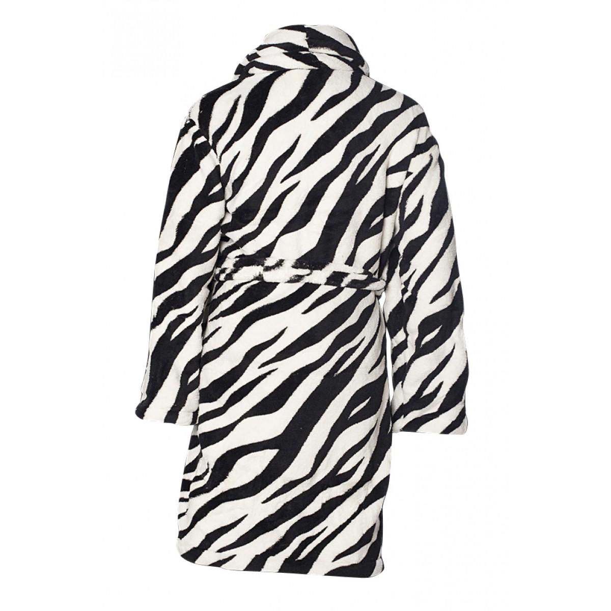 Kinderbadjas Zebra