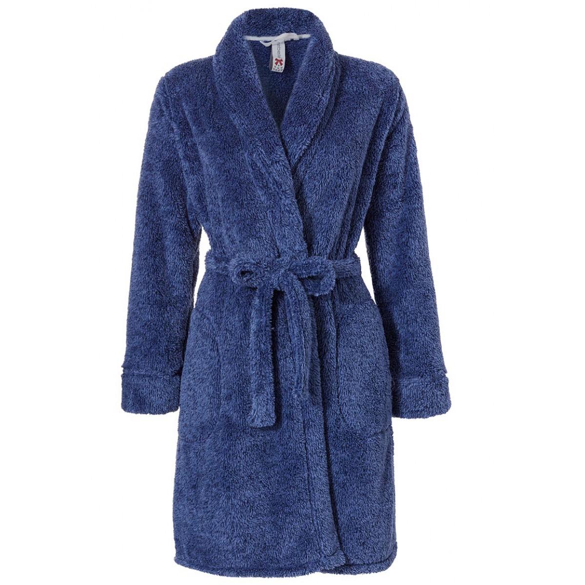 dames badjas van fleece