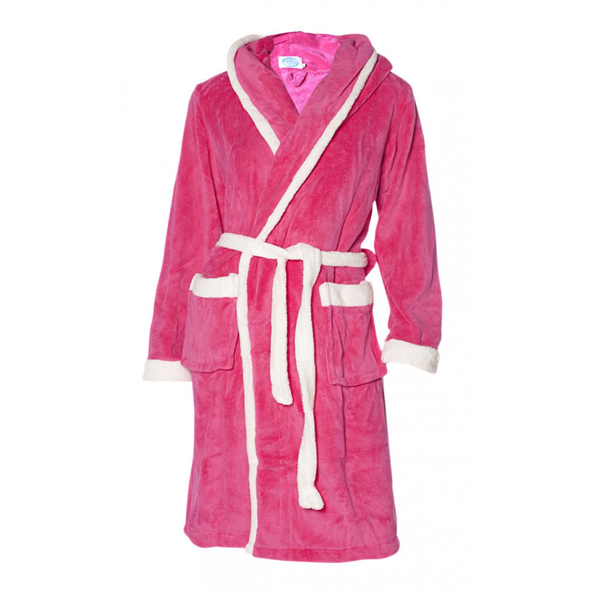 Roze kinderbadjas