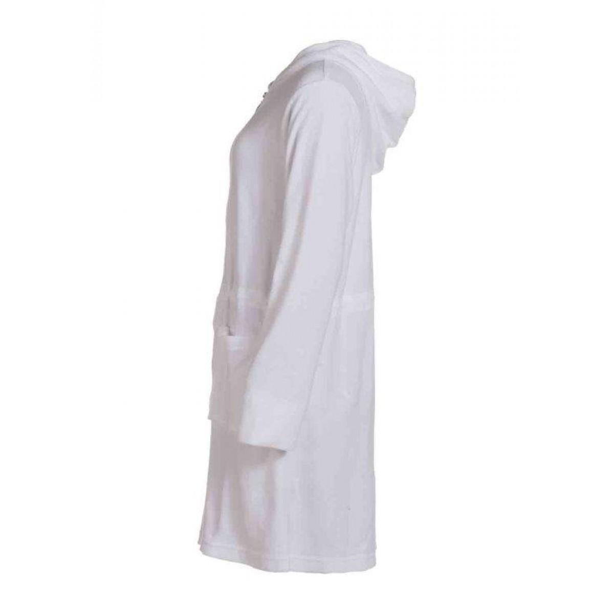 Witte dames-badjas