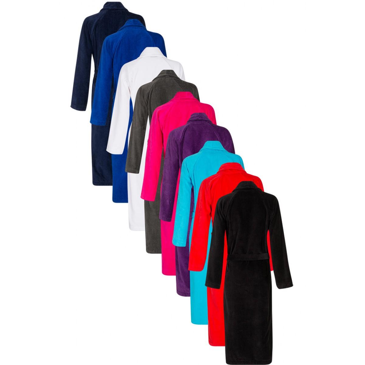 Luxe velours badjas