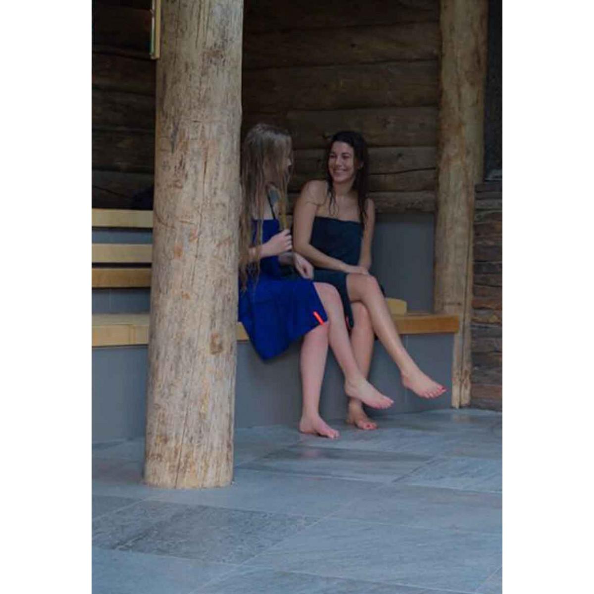Sauna omslagdoek dames