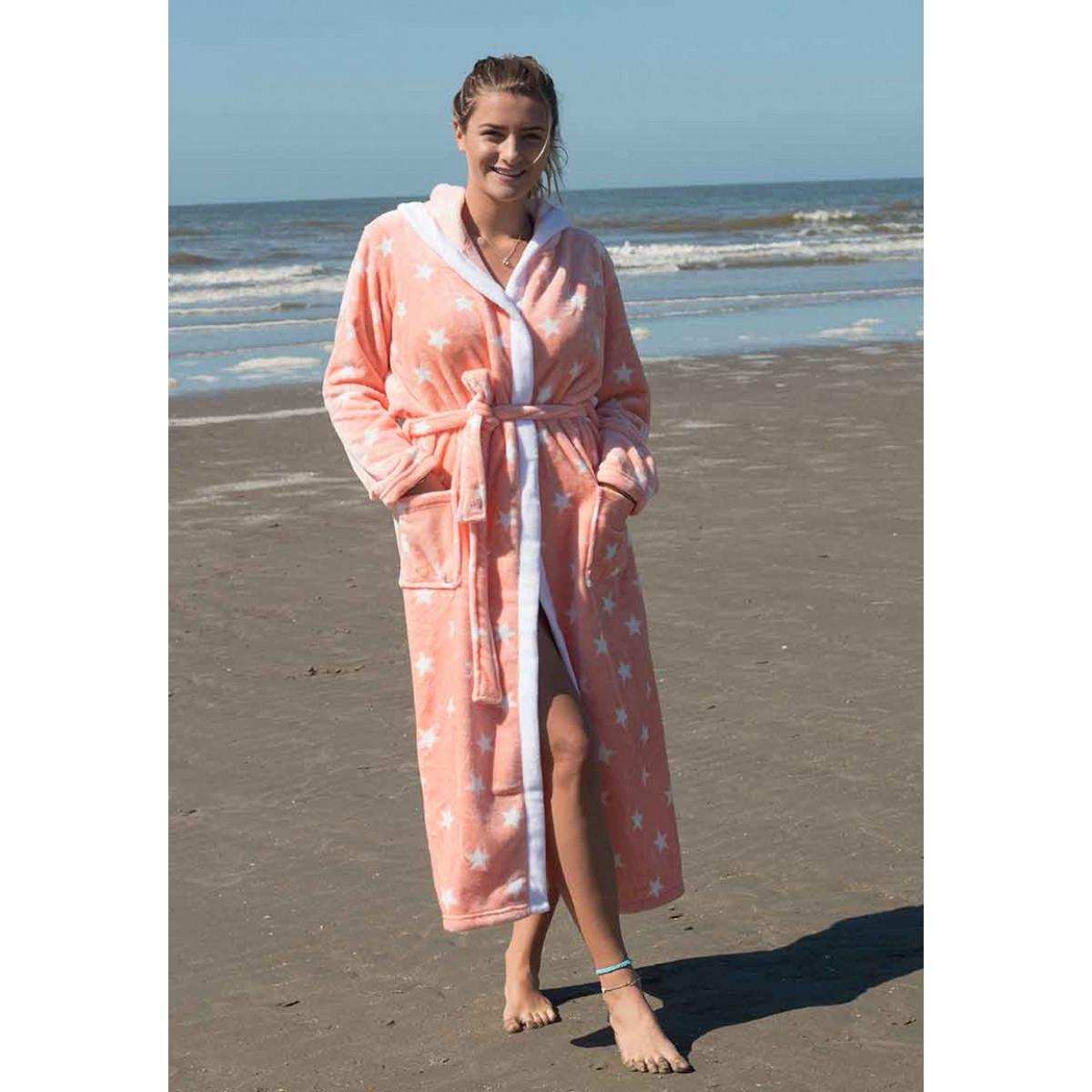 badjassen voor dames van fleece