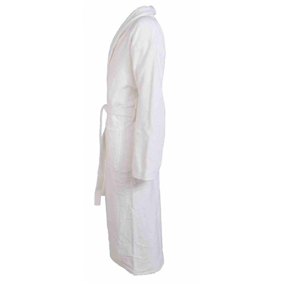 unisex witte badjas