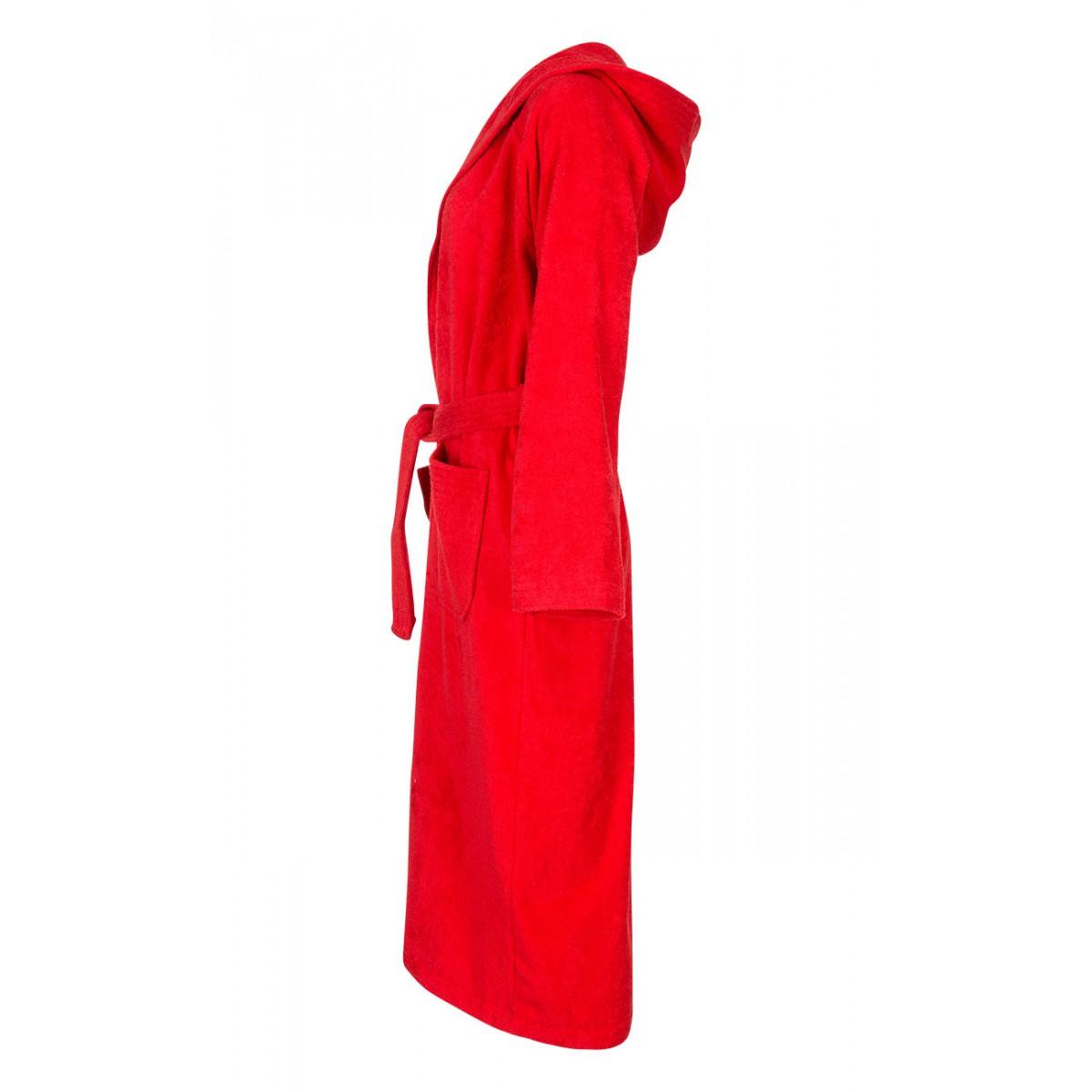 Rode badjas unisex