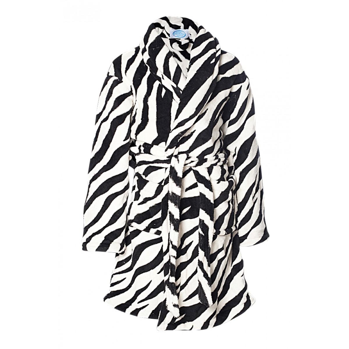 Kinder-badjas Zebra