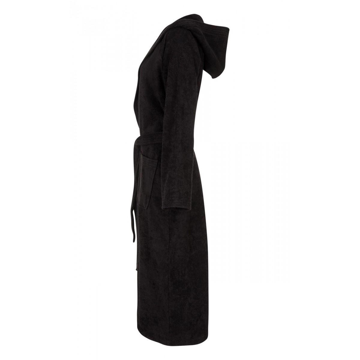 zwarte badjas unisex