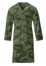 Camouflage badjas legergroen