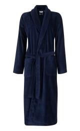 Marineblauwe badjas