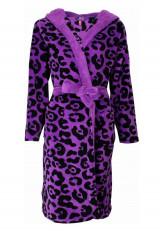 Meisjes badjas luipaard