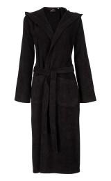 Capuchon badjas zwart