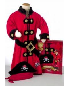 Piraten kinder badjas