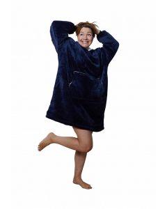 fleece poncho borduren met naam - gepersonaliseerde poncho van fleece