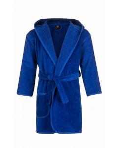 capuchon kinderbadjas kobalt blauw