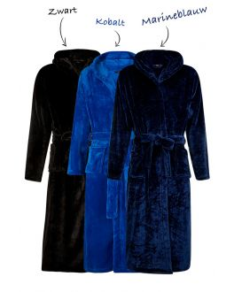 Borduring op fleece badjassen