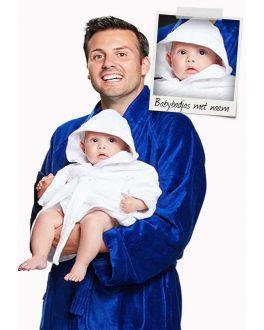 Babybadjas met naam