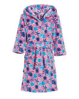 Bloemen badjas voor kinderen