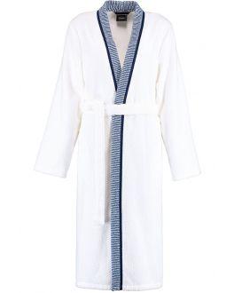 Dames kimono wit - badstof katoen - Cawo