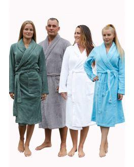 Fleece badjassen – 5 kleuren