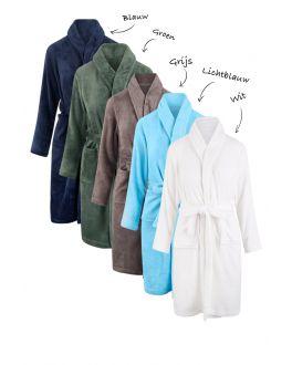 Borduren van kinderbadjassen - fleece