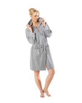 badjas met ritssluiting