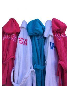 Kinderbadjas met naam kopen?