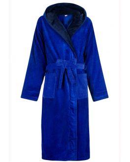 Heren badjas koninklijk blauw