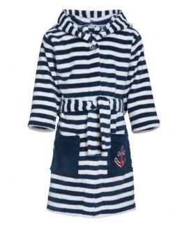 Strepen badjas voor kinderen